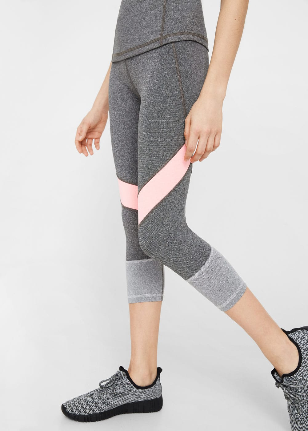 Multi-sport capri leggings | MANGO