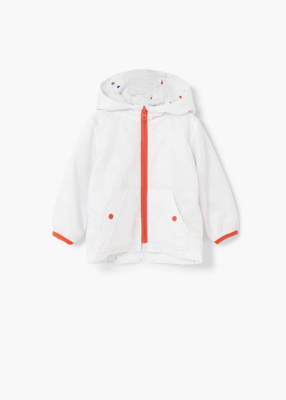 Hooded jacket | MANGO KIDS
