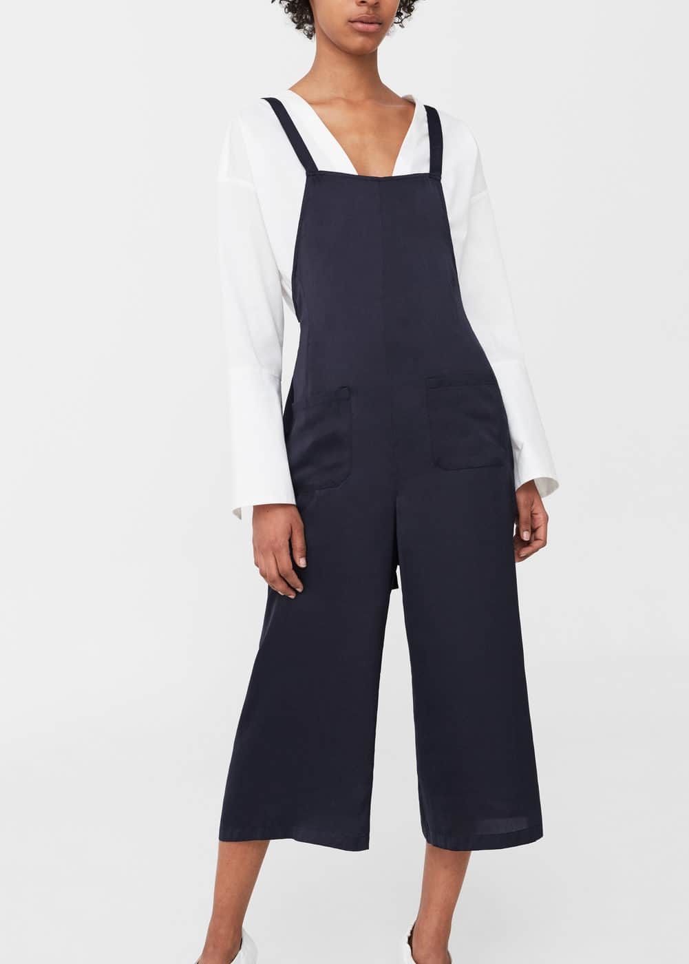 Shift long jumpsuit | MANGO