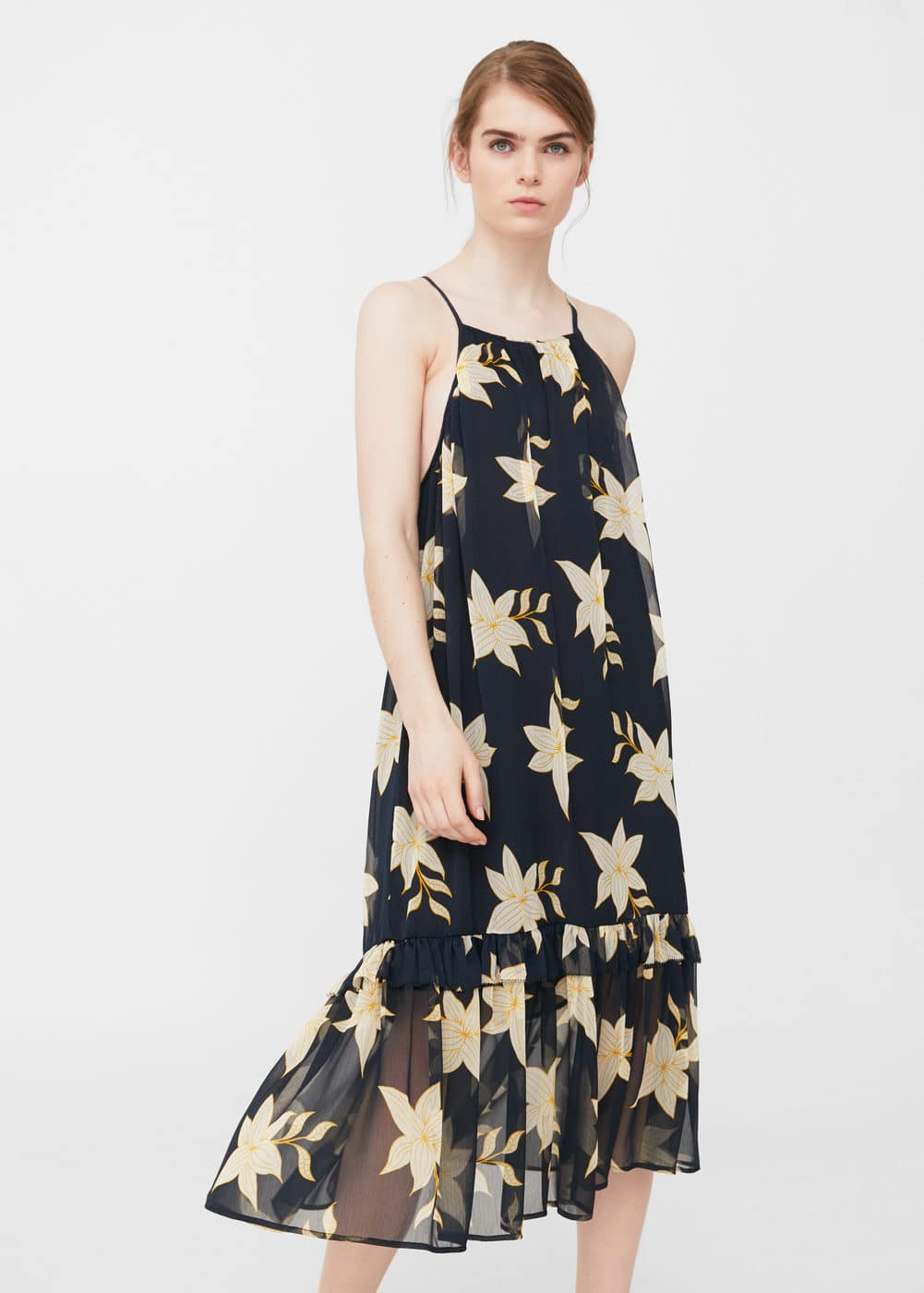 Floral pattern dress | MANGO
