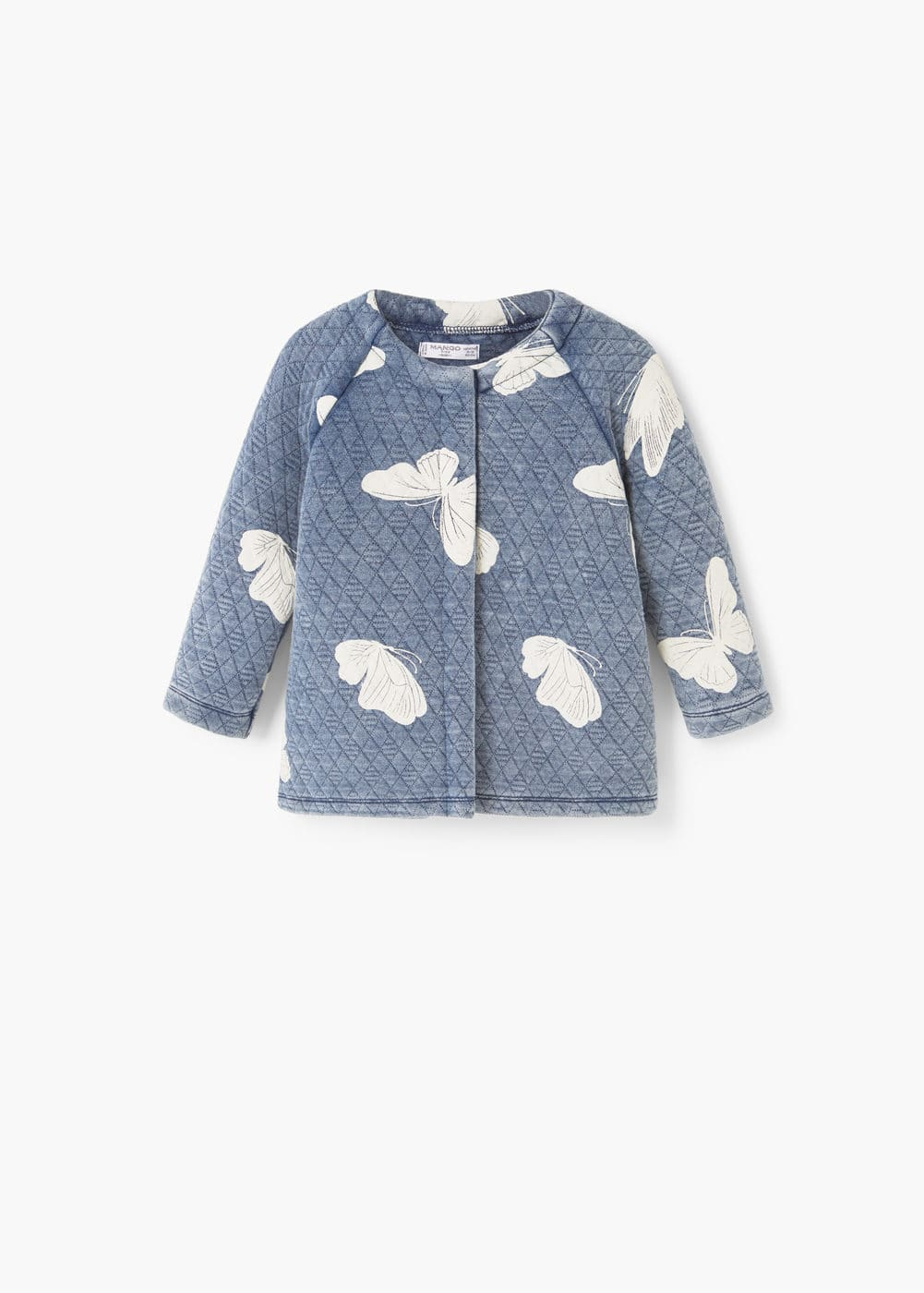 Stitched jacket | MANGO KIDS