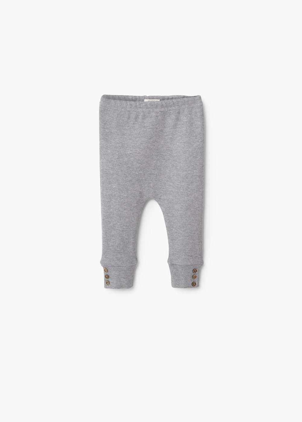 Leggings mit rippmuster | MANGO KIDS