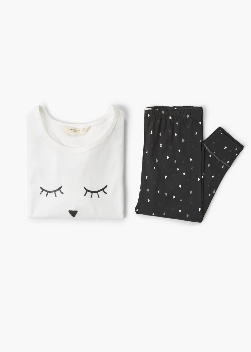 Printed long pyjamas | MANGO