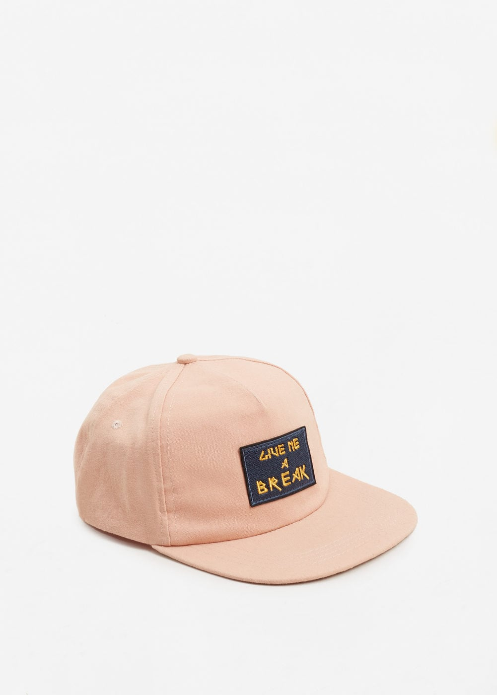 Embroidered message cap | MNG