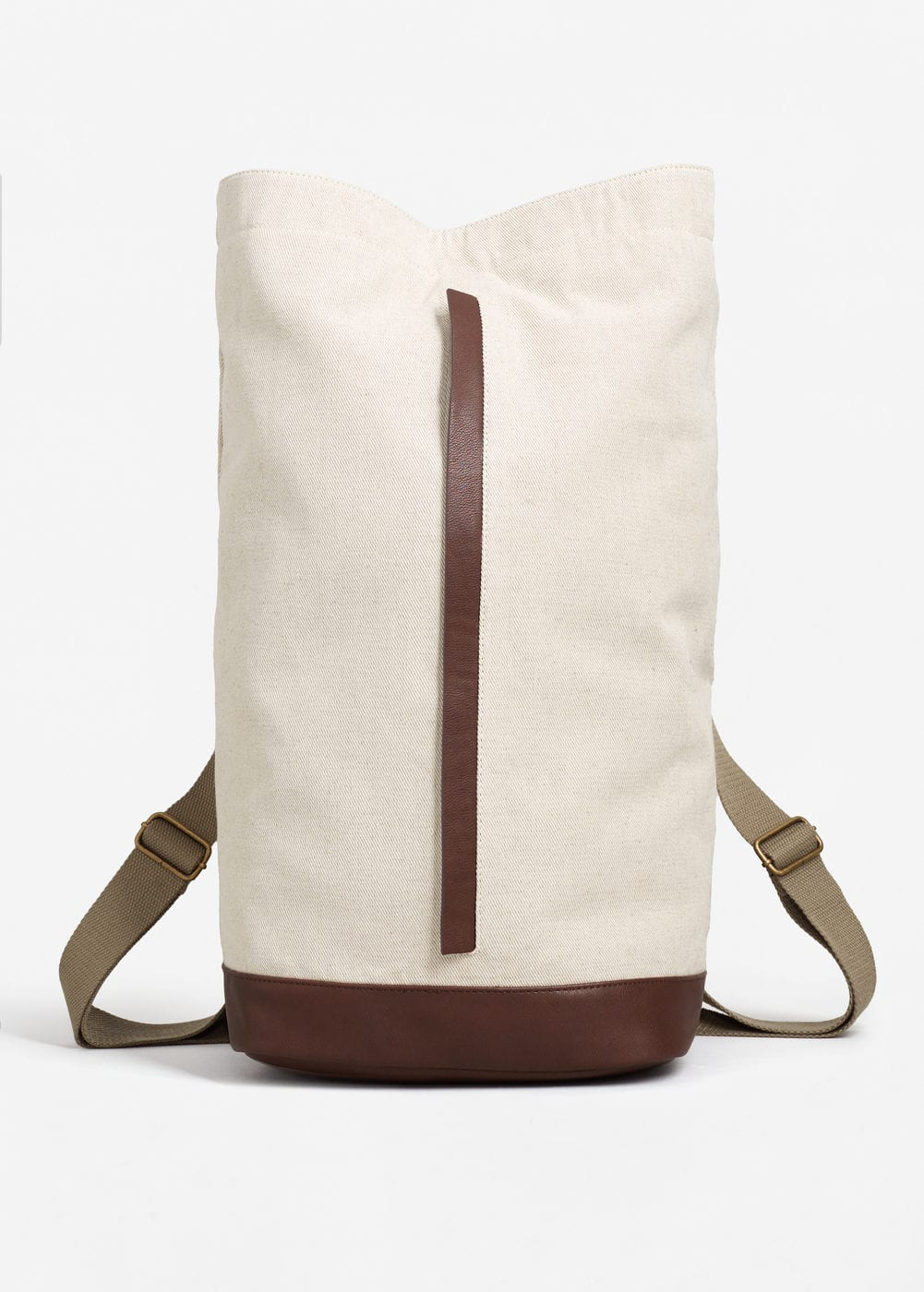 Twill backpack | MANGO MAN