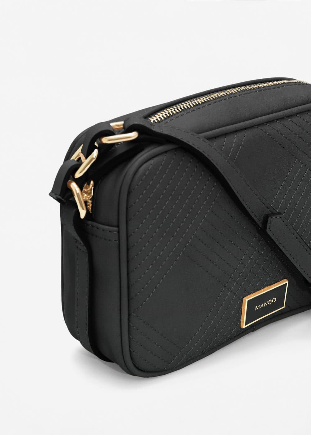 Stitch cross bag | MANGO