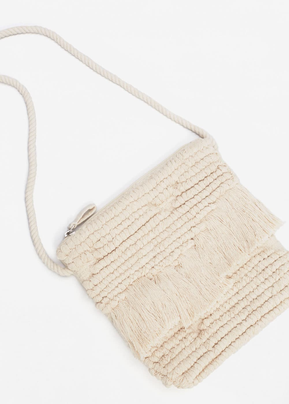 Fringed cross-body bag | MANGO KIDS