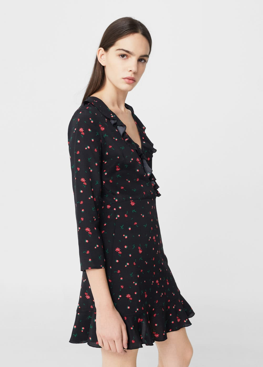 Floral pattern dress | MNG