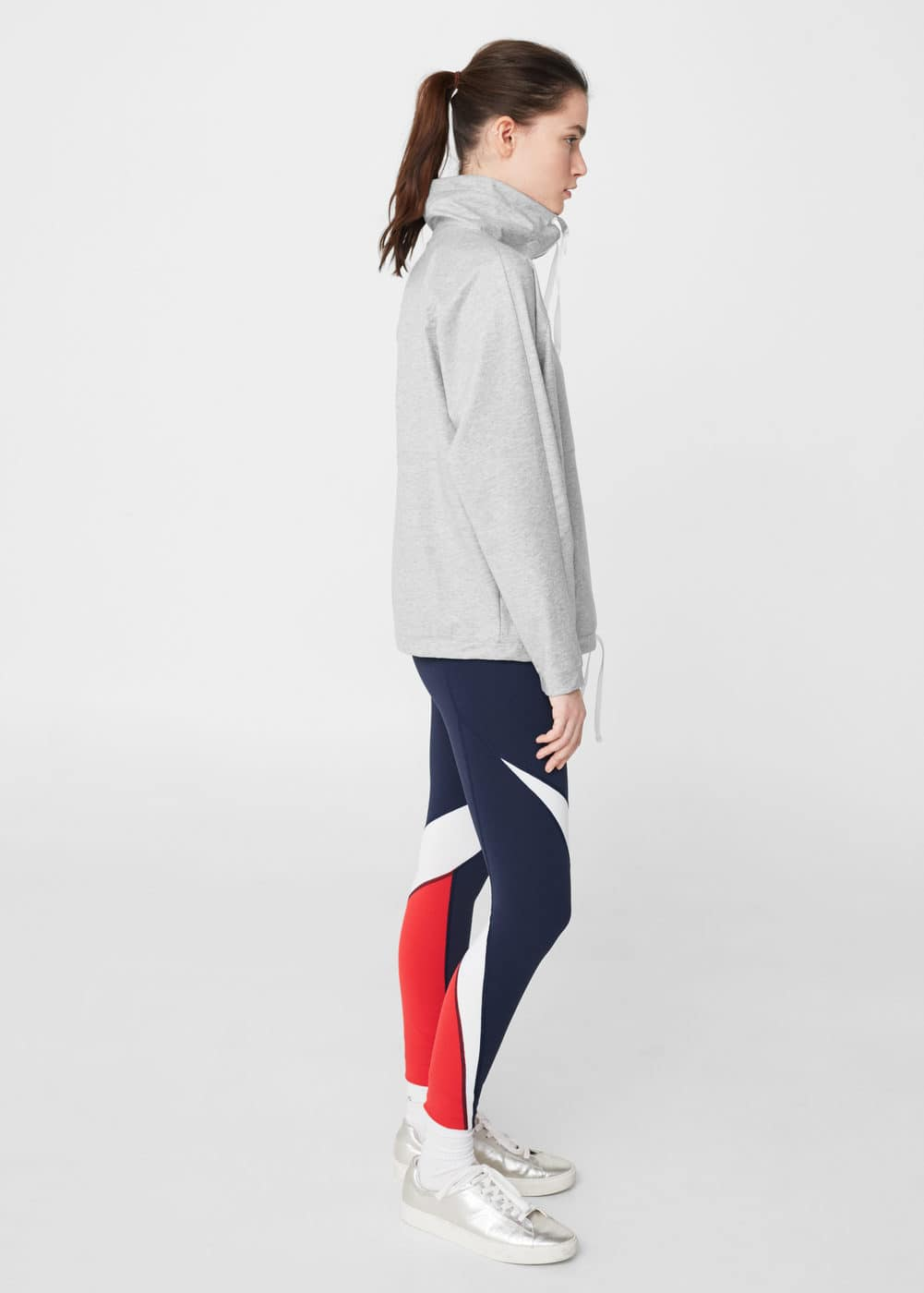 Kangaroo pocket training sweatshirt | MANGO