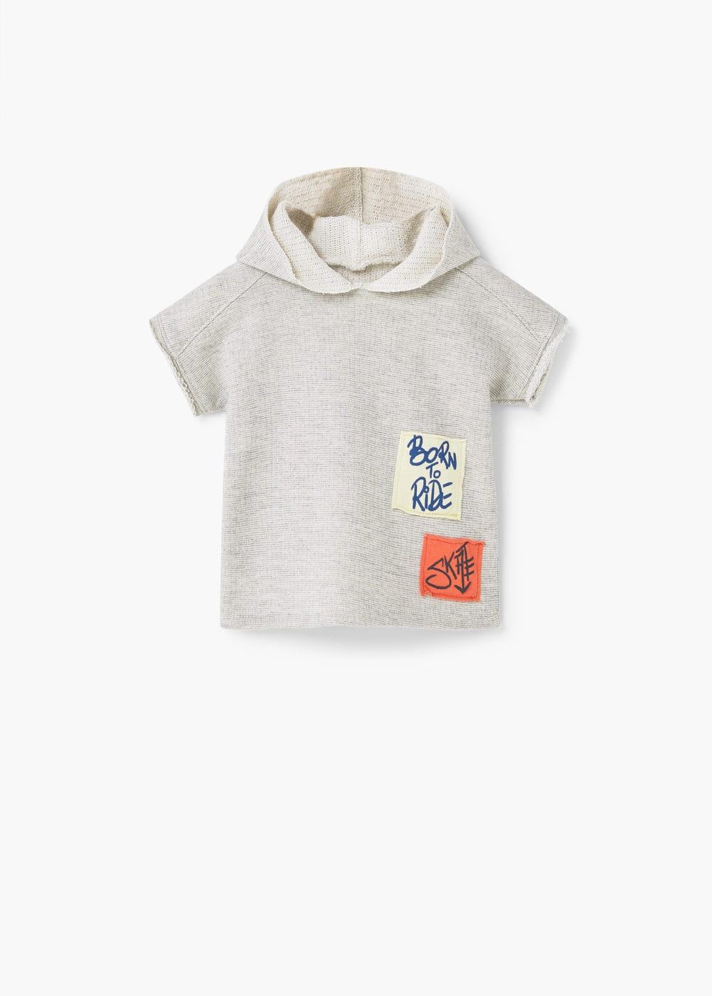 Sudadera parches | MANGO KIDS