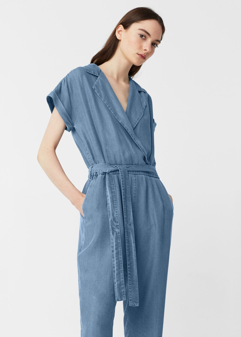Medium denim jumpsuit | MNG