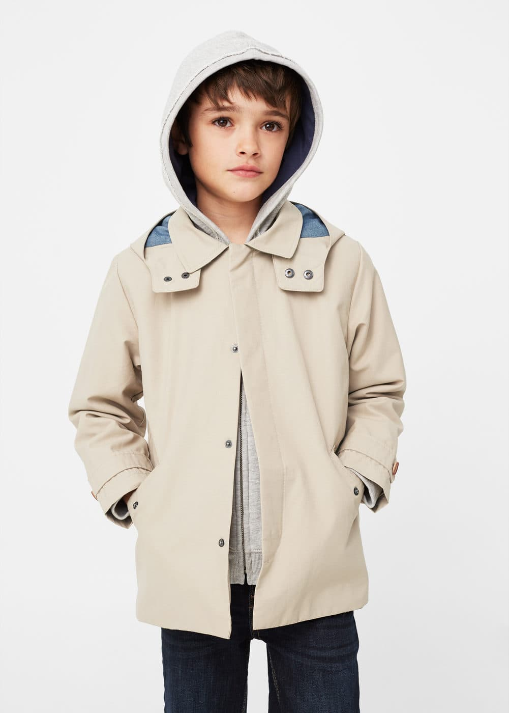 Trench coton imperméable | MANGO