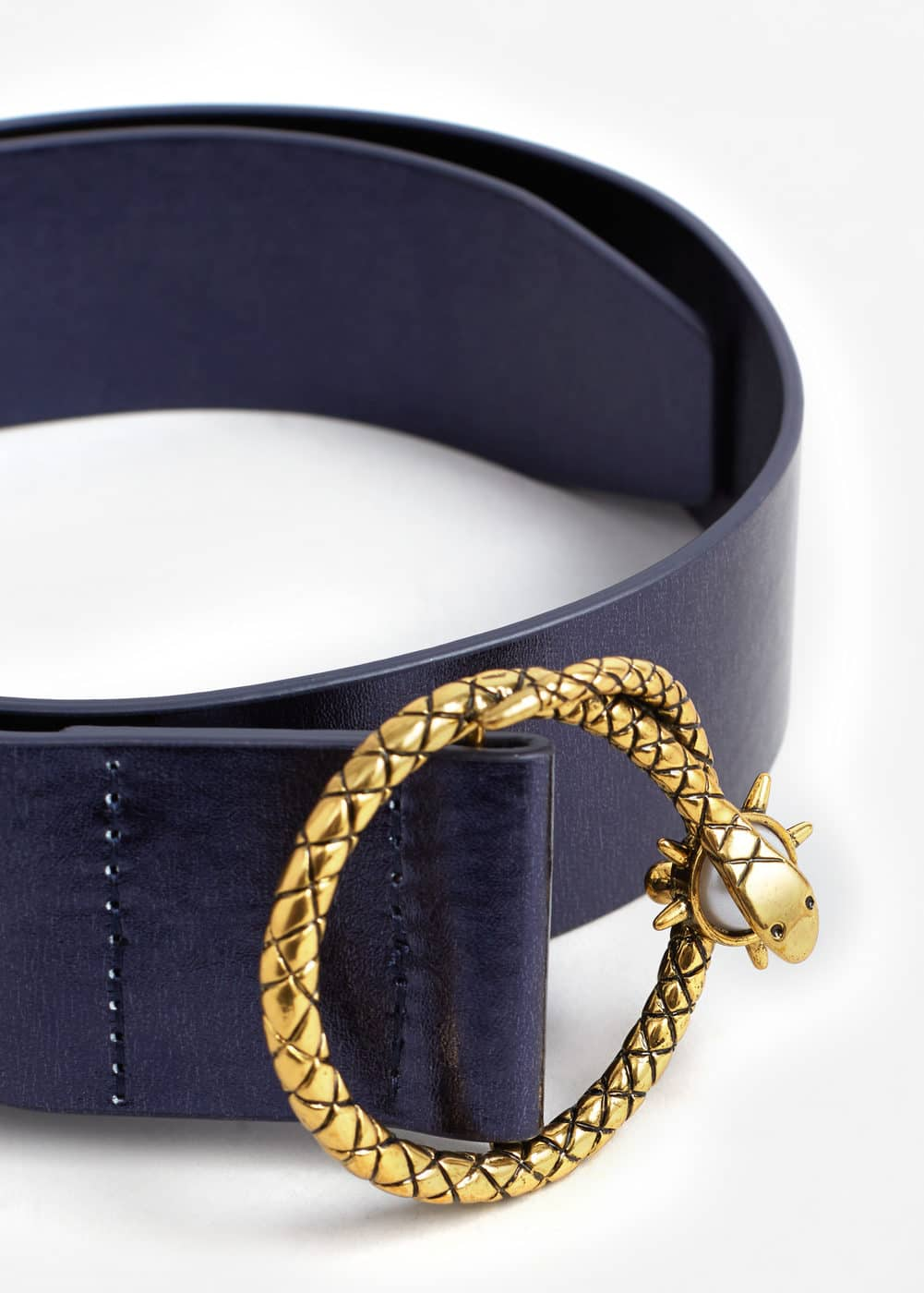 Snake buckle belt | MNG