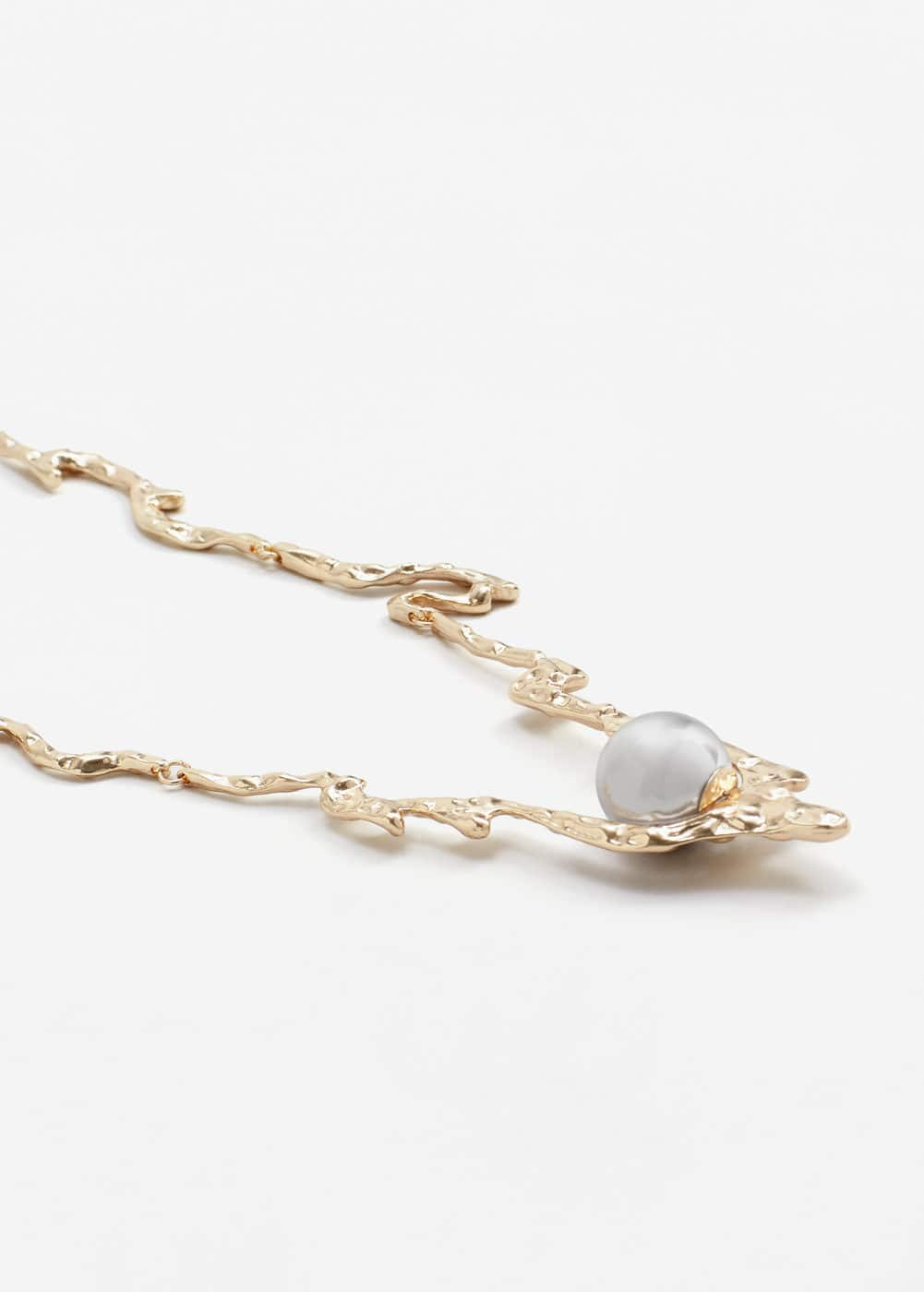 Pearl pendant necklace | MANGO