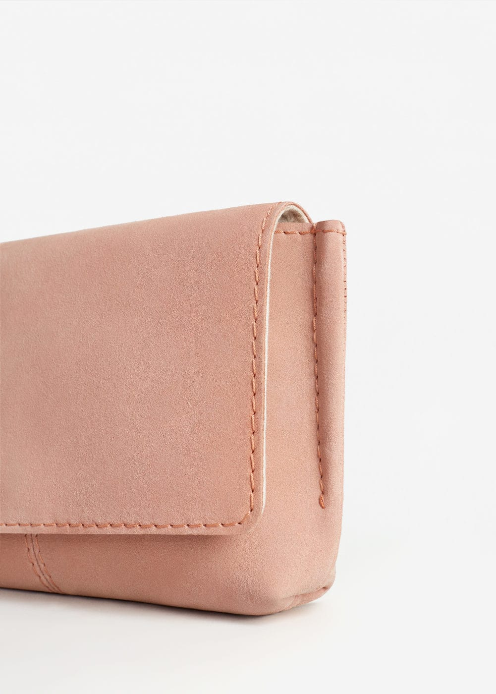 Flap leather bag | MANGO