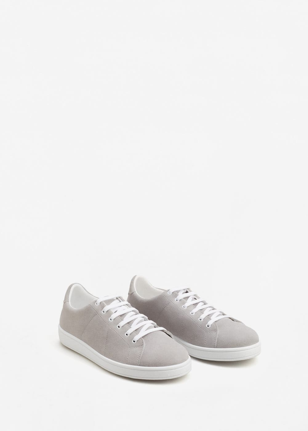 Leather sneakers | MANGO