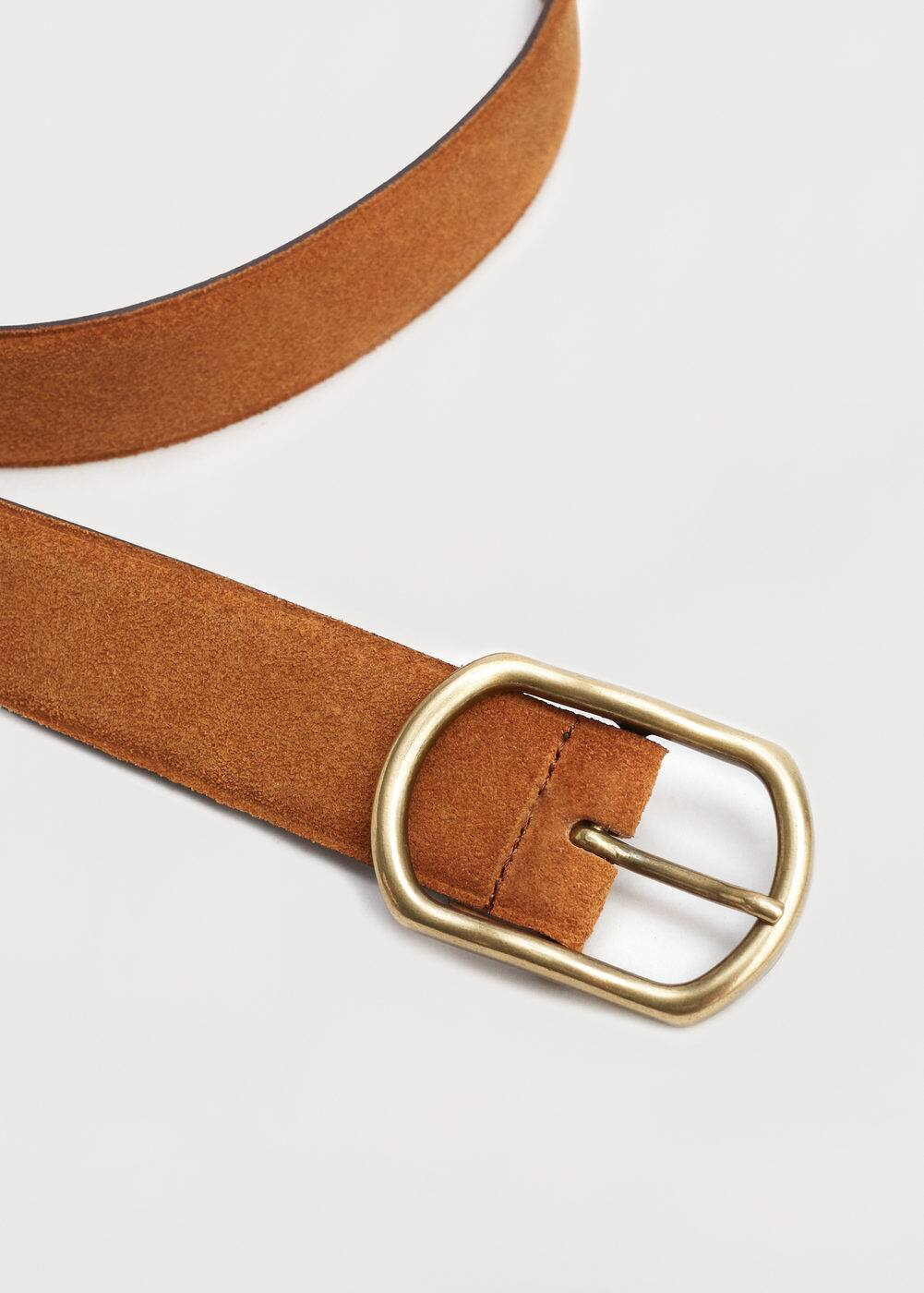 Suede belt | VIOLETA BY MANGO