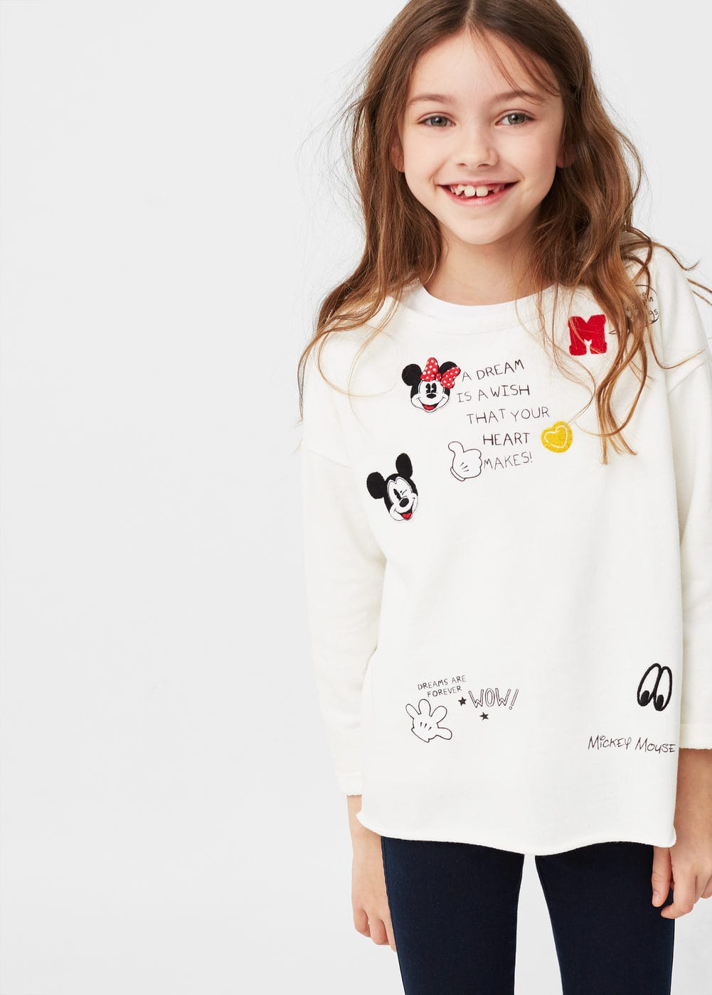 Mickey-mouse-sweatshirt | MANGO KIDS