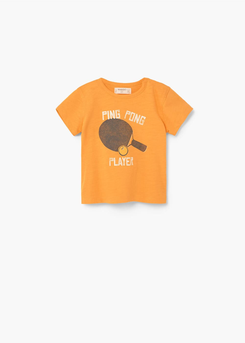 Image cotton t-shirt | MANGO KIDS