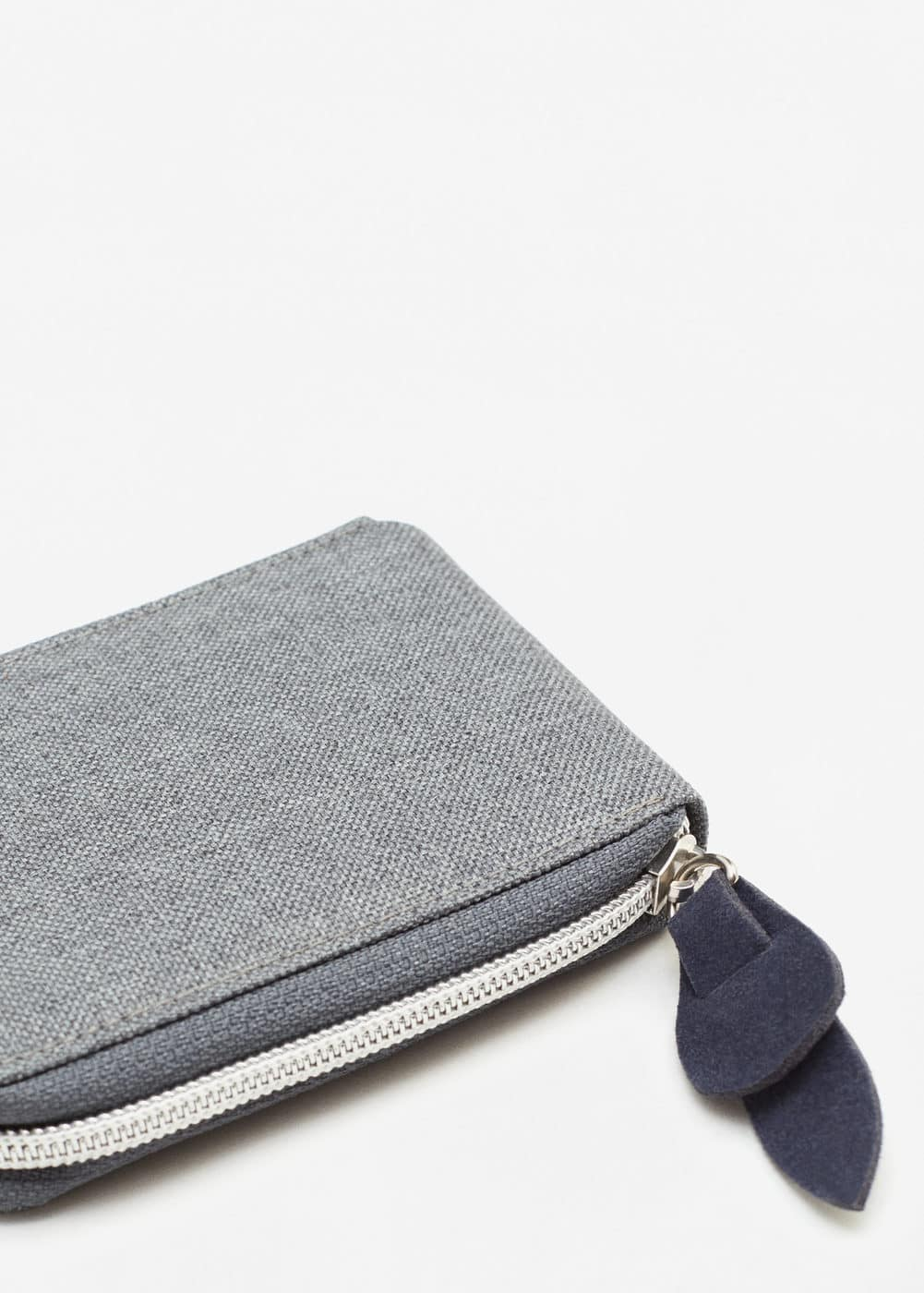 Canvas folded wallet | MANGO MAN