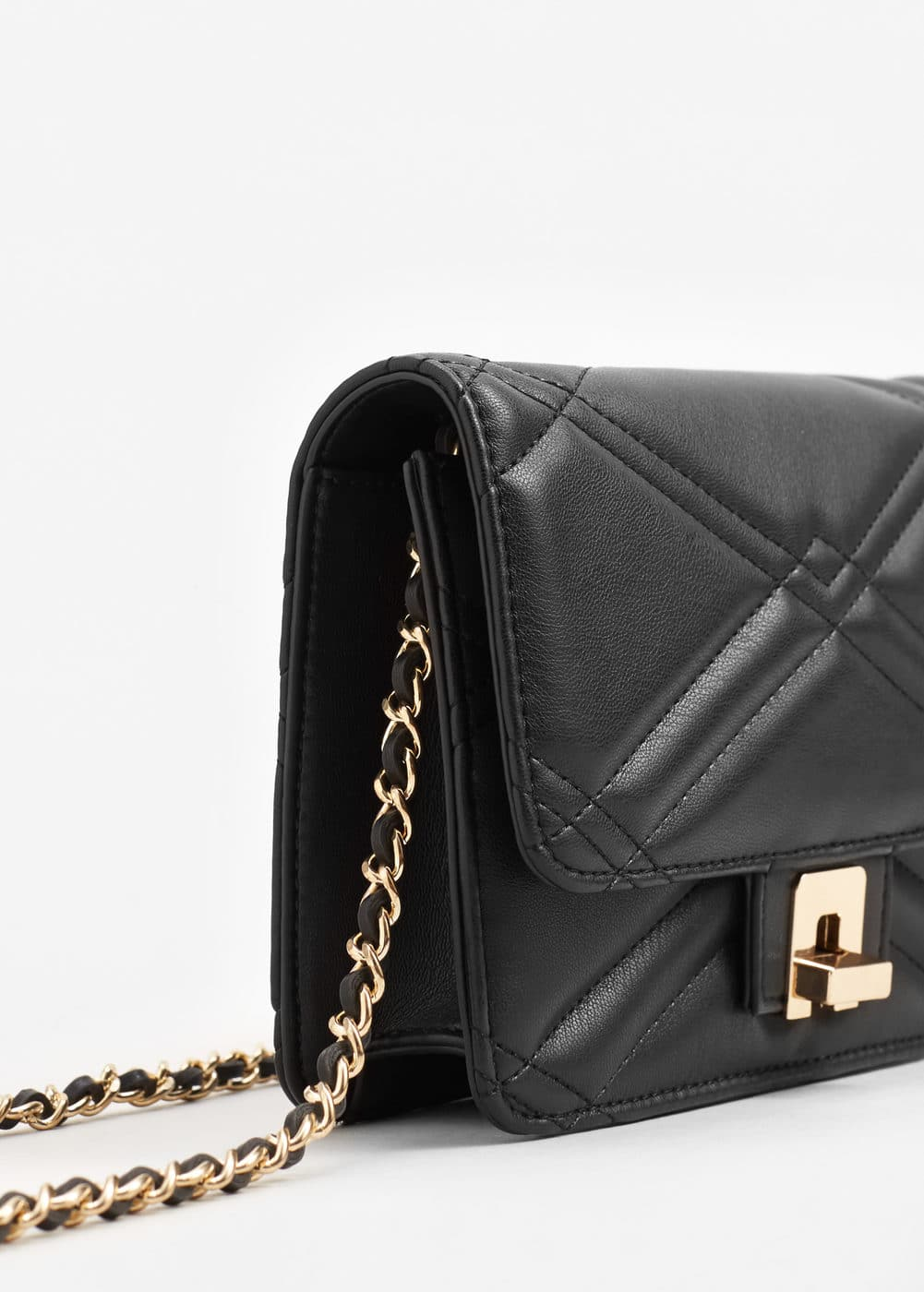 Quilted cross-body bag | MANGO