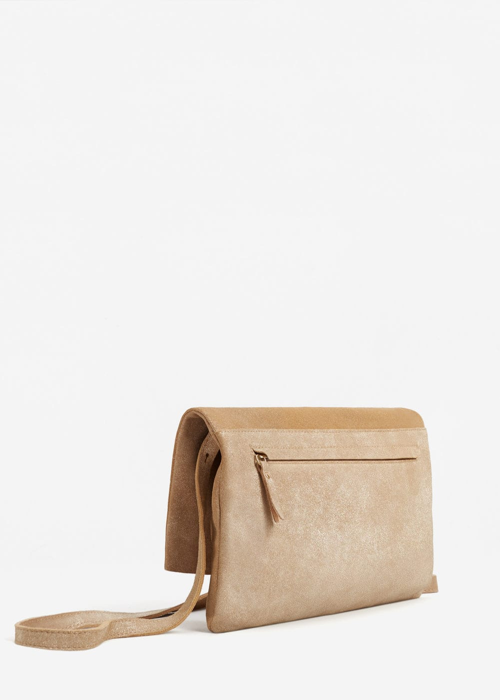 Flap leather bag | MNG