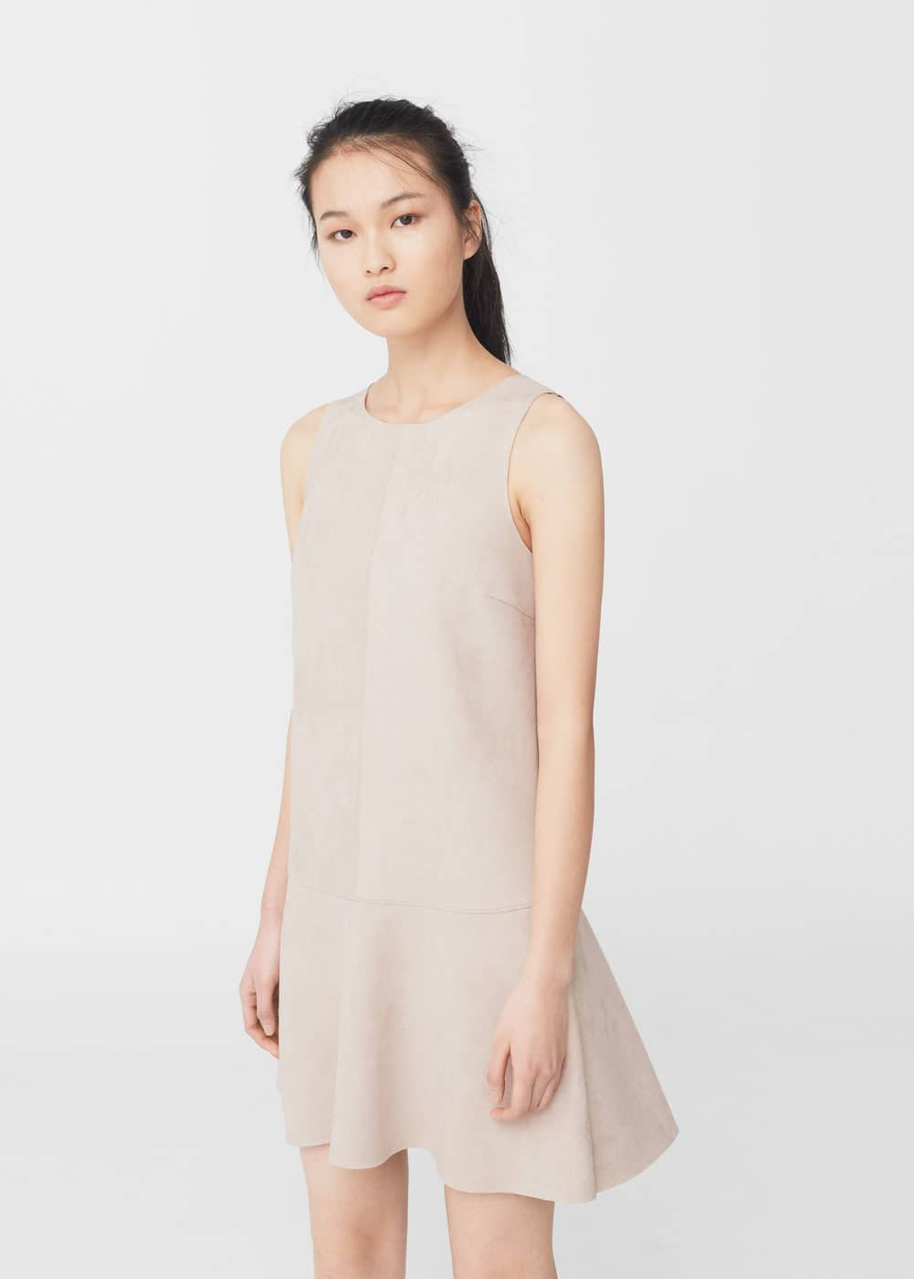 Neoprene-effect dress | MANGO