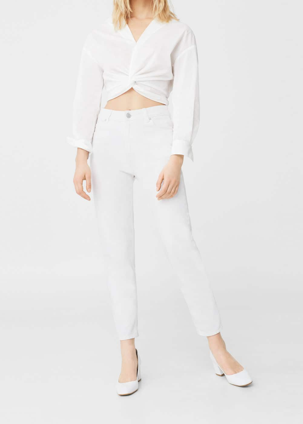 Texans relaxed crop mom | MANGO