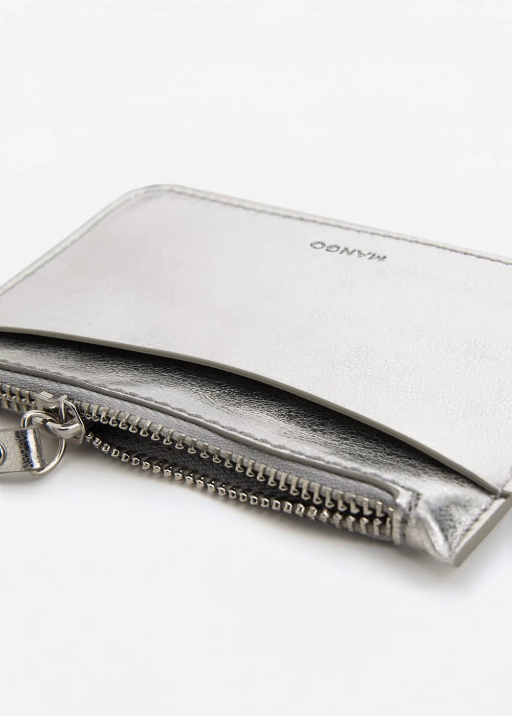 Metallic purse | MANGO