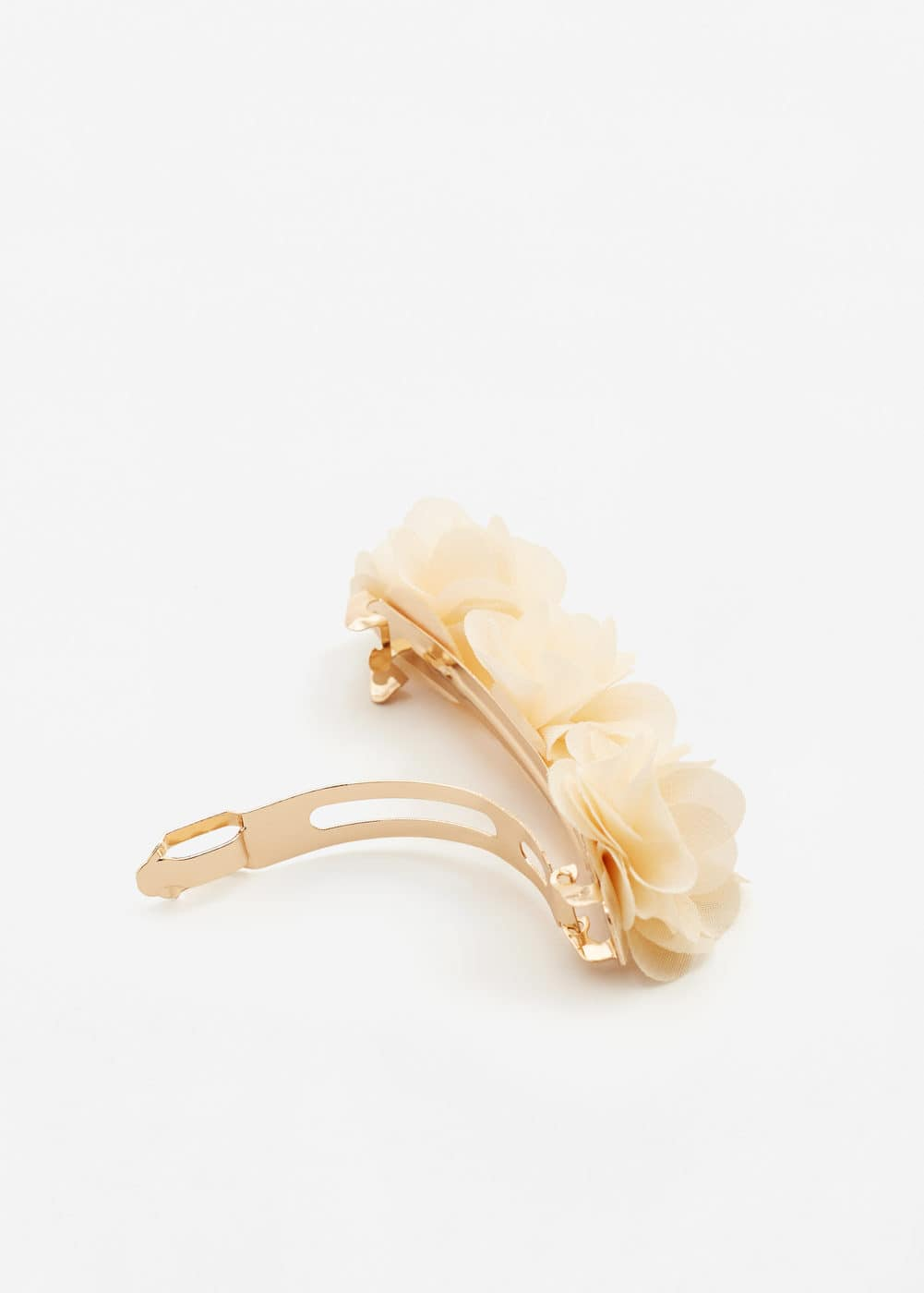 Chiffon flower hair tie | MANGO KIDS