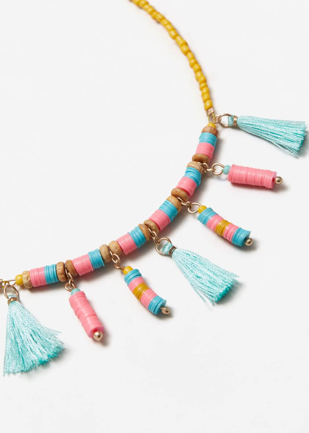 Tassel bead necklace | MNG
