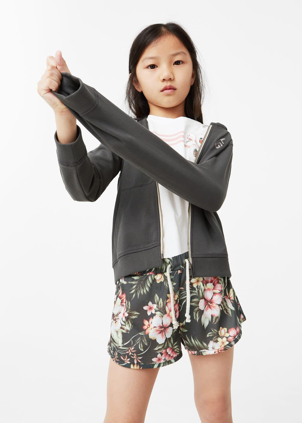 Shorts estampat tropical | MANGO KIDS