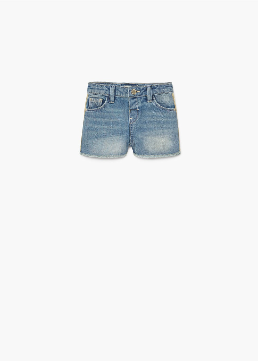 Shorts denim brodats | MANGO KIDS