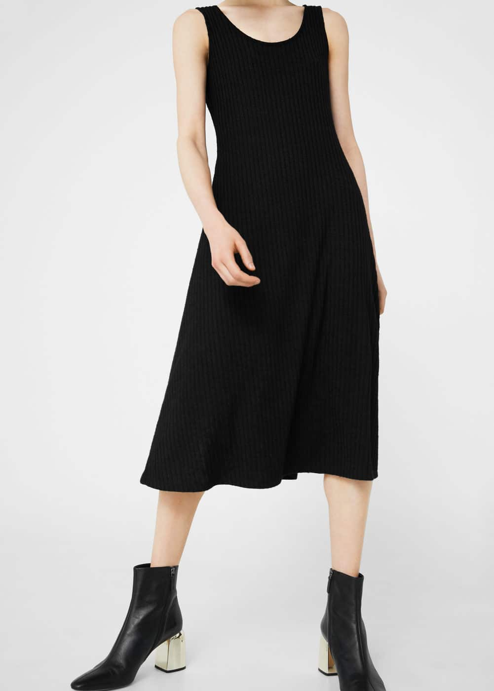 Flared ponte dress | MANGO