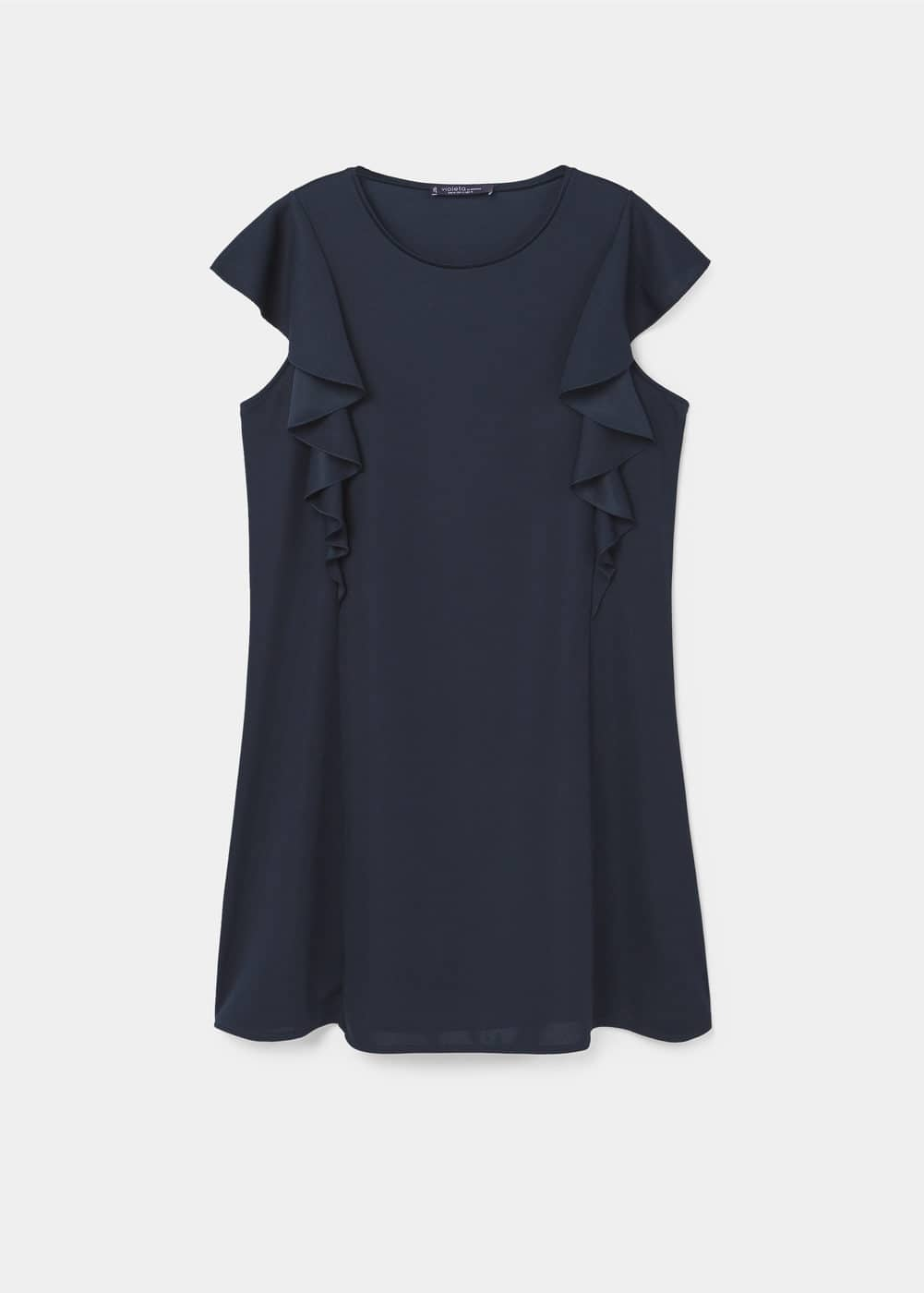 Flowy ruffled dress | MANGO