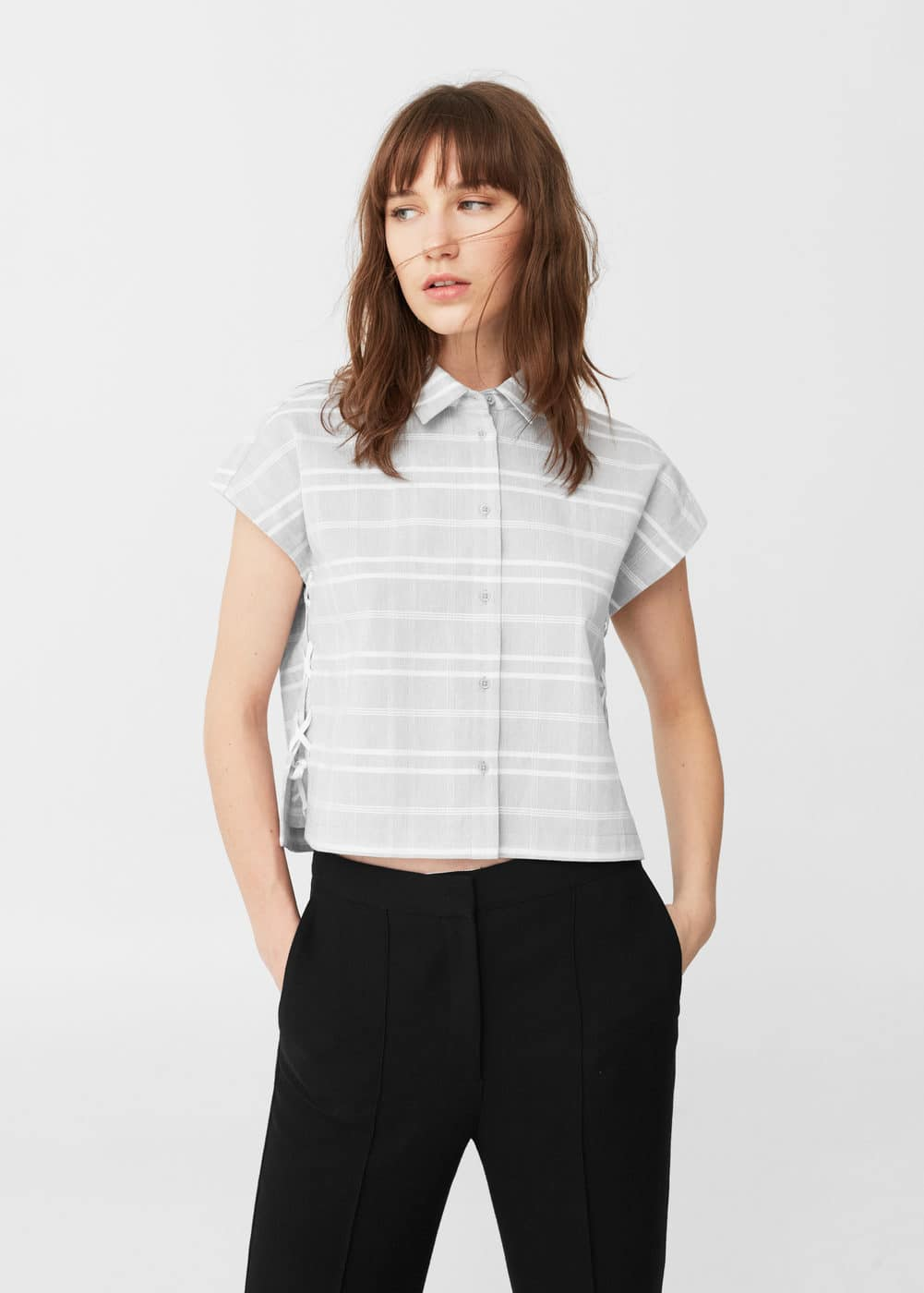 Braided cord shirt | MANGO