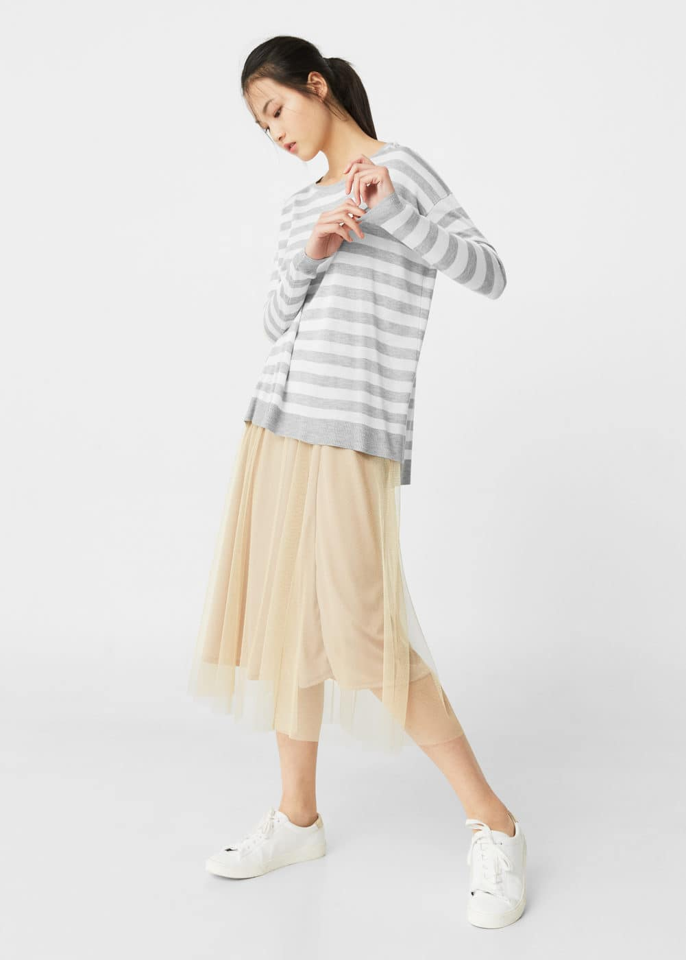 Striped sweater | MANGO