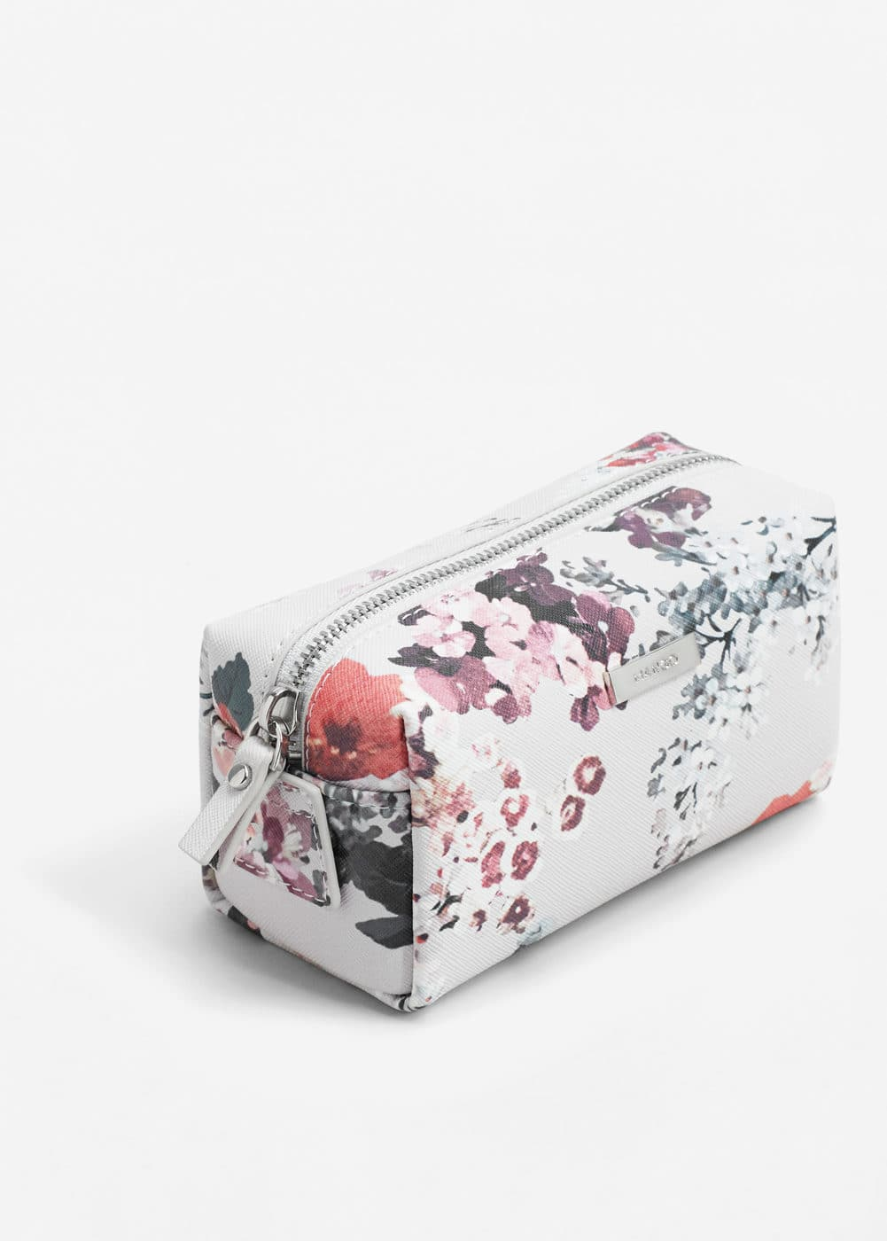 Saffiano-effect cosmetic bag | MANGO