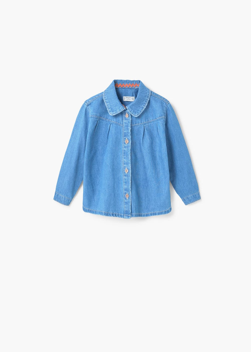 Medium denim shirt | MANGO KIDS
