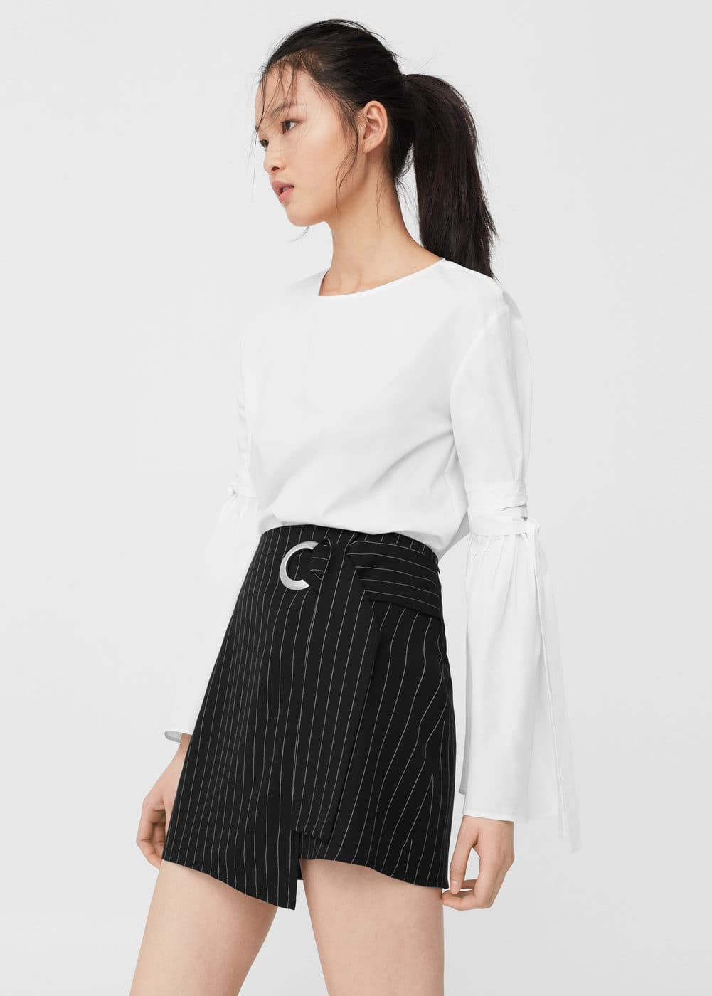 Buckle wrap skirt | MNG