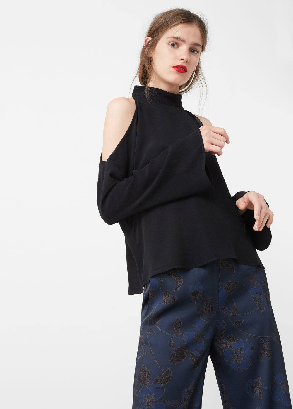Blusa off-shoulder | MNG