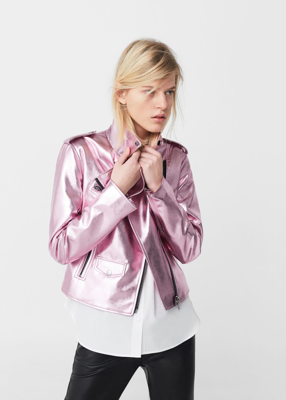 Crystals metallic jacket | MNG
