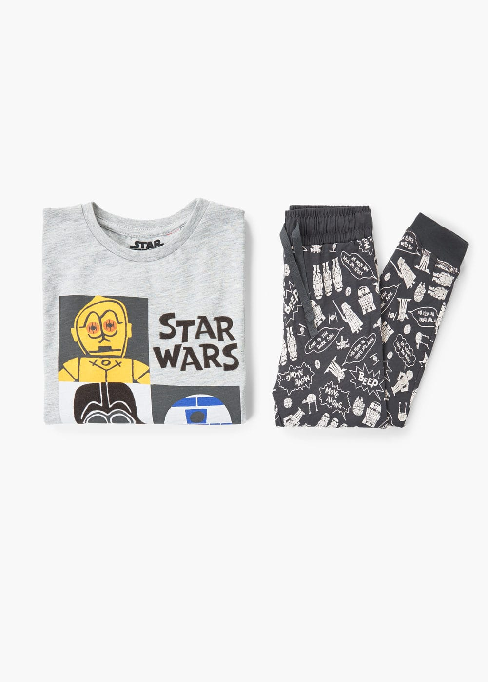 Star wars long pyjamas | MANGO