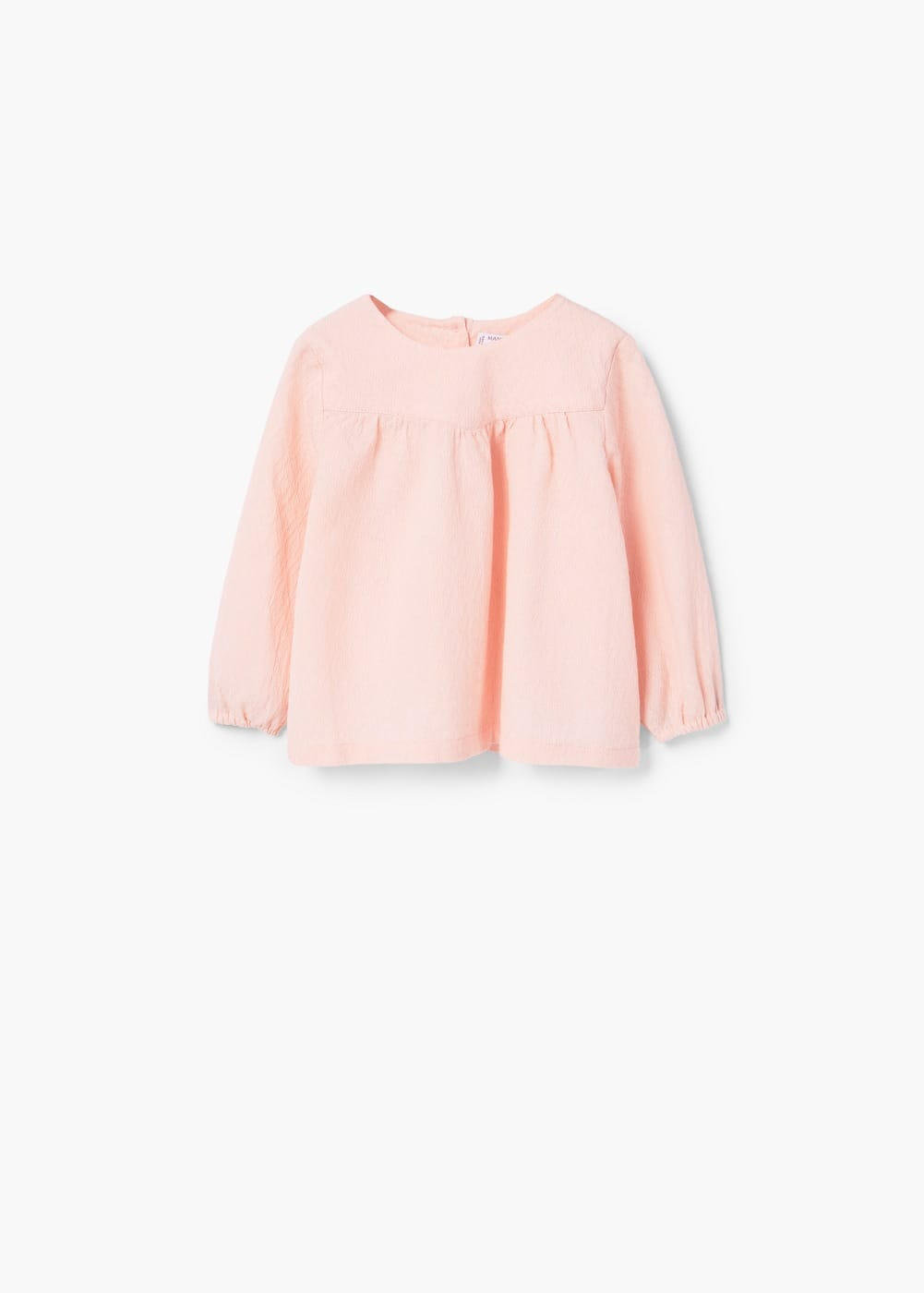 Buttoned cotton shirt | MANGO KIDS