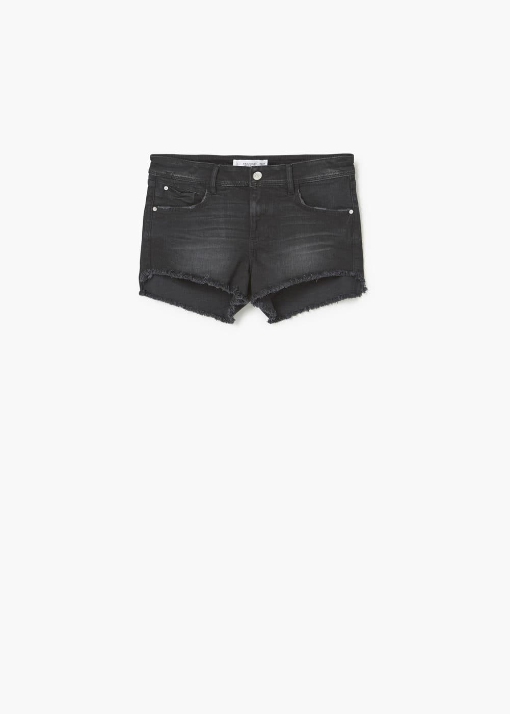Medium-waist denim shorts | MANGO