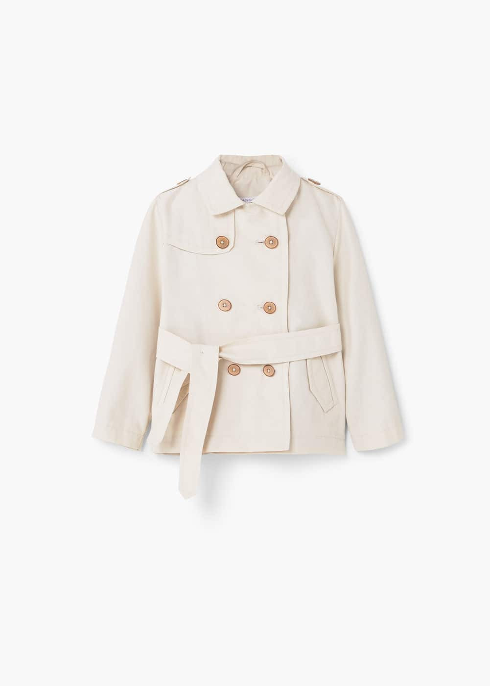 Classic cotton trench coat | MANGO