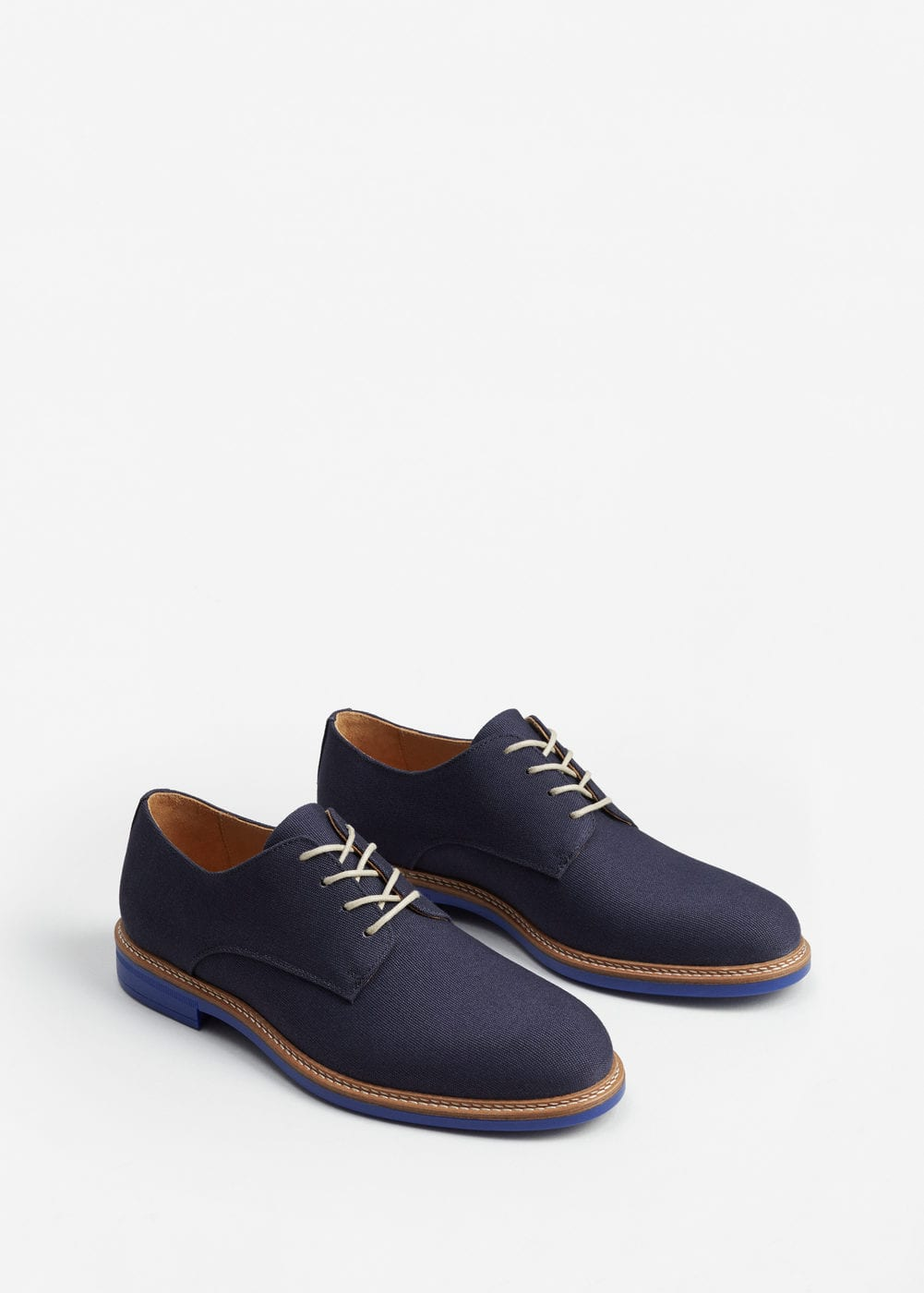 Contrast sole blucher | MANGO MAN