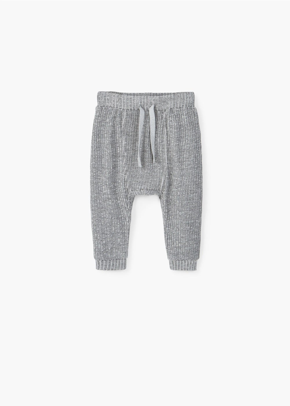 Ribbed baggy trousers | MANGO