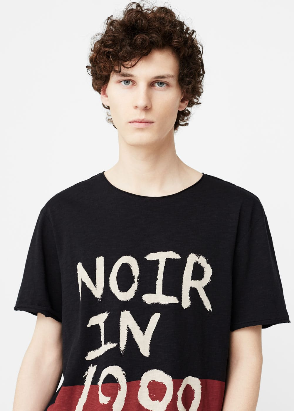 Printed cotton t-shirt | MNG