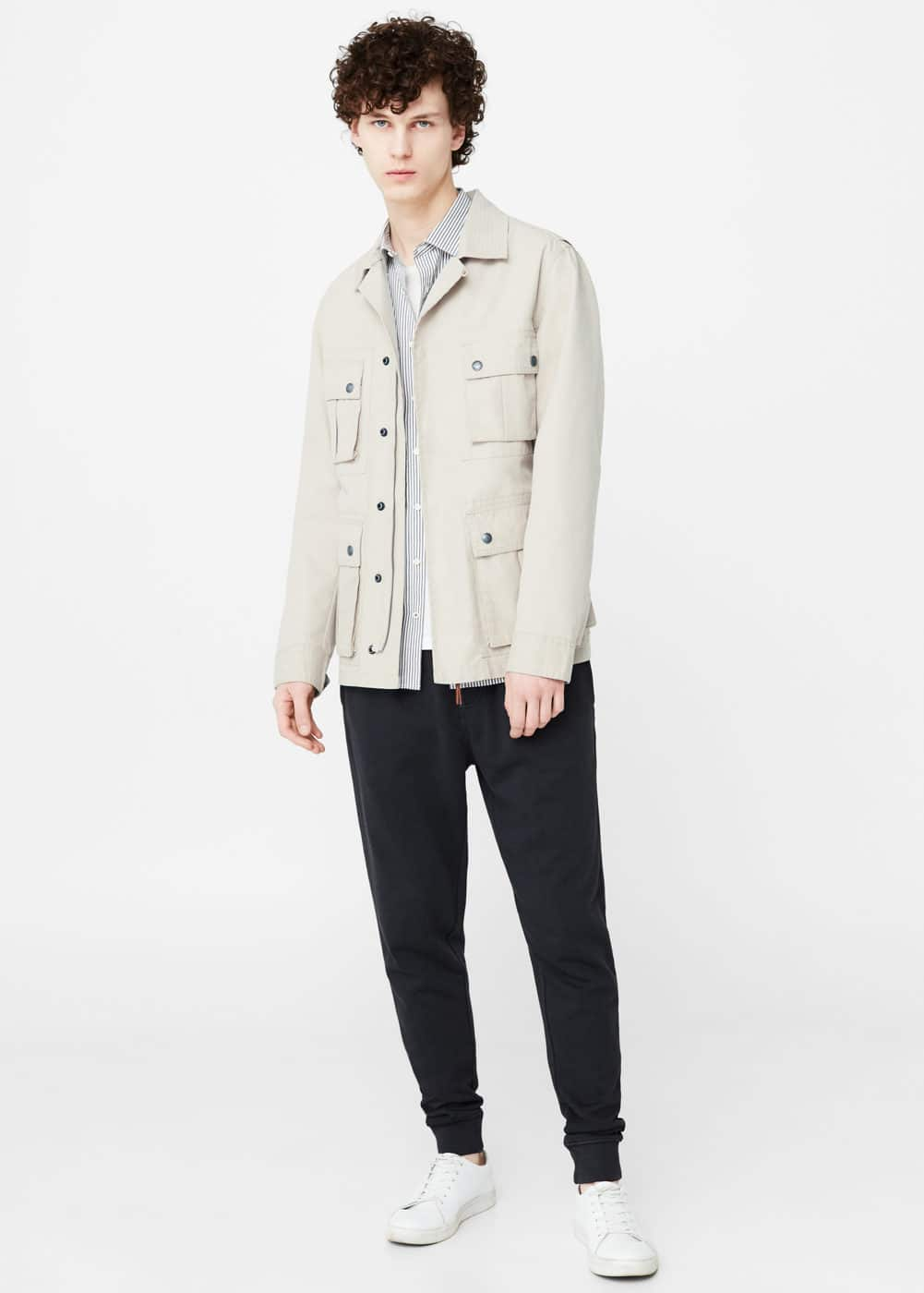 Safari-style jacket | MANGO MAN